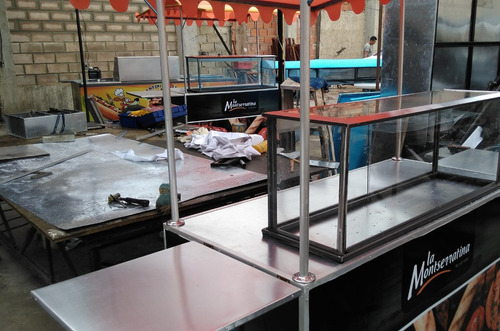 carros y trailer para comida rapida