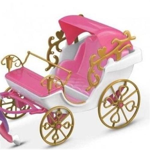 carruagem real com cavalo infantil meninas para princesas bo