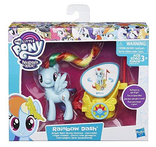 carruaje my little pony rainbow dash royal