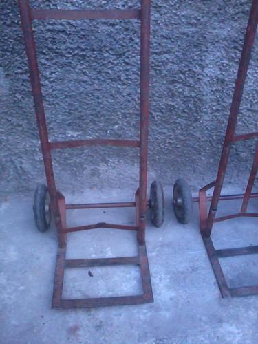 carrucha refresquera usada ruedas macizas