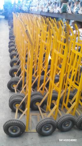 carruchas nuevas 250klg ruedas mazisas