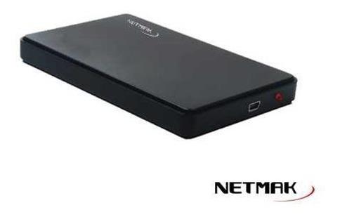 carry disk caja externa 2.5 2.0 sata netmak notebook