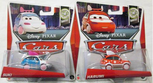 cars 2 disney pixar, el rayo mcqueen, mate.. precio p/unidad