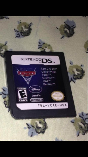 cars 2 disney pixar nintendo dsi ds card original r$58,99