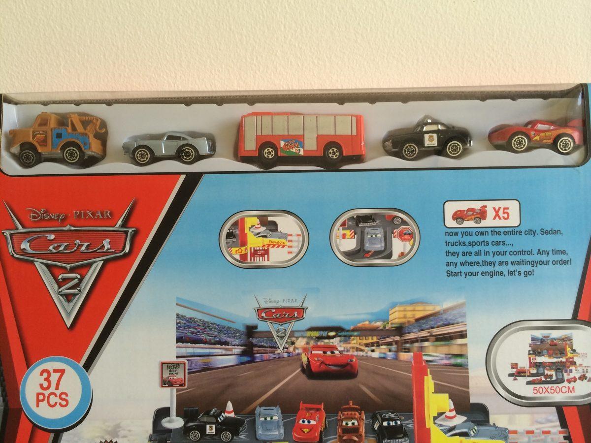 Cars 2 pista 37 piezas rayo mcqueen bs en - Cars en juguetes ...