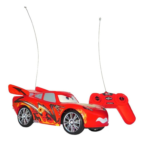 cars 3 carro control 23cm rayo macqueen niños ref. 699-28