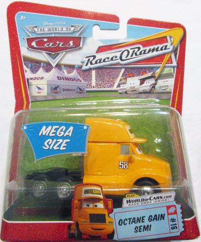 cars 3 disney pixar mack, octane gain mide 10 cm escala 1:55