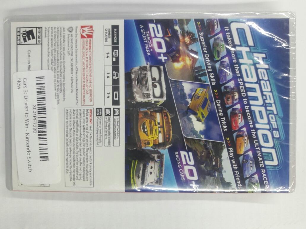 Cars 3 Drive To Win Nintendo Switch Barato 870 00 En Mercado Libre