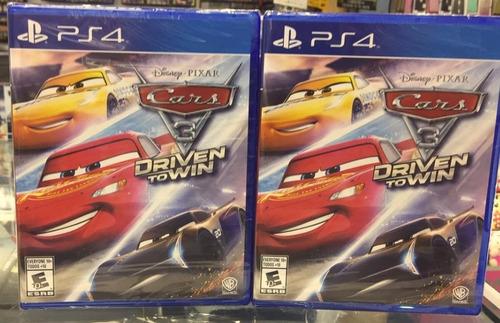 cars 3 hacia la victoria ps4 playstation nuevo  sellado