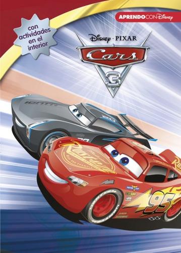 cars 3 . leo, juego y aprendo con disney(libro infantil)