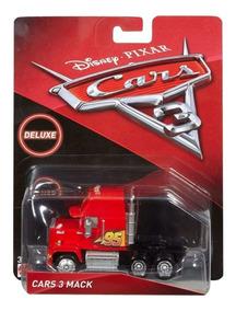 Mack 10cm Mattel 3 Cars Metal Original Deluxe n0OkXwN8P