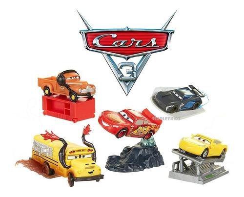 cars 3 set 5 autos combo jakks original blister