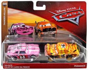 3 Disney Tailgate Y Hollow Pixarmattel Thunder Cars Pushover MpSUqVGz