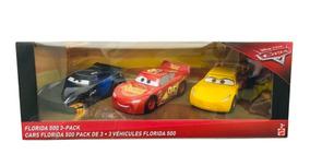 Florida 500 De Mattel 3 Vehículos Cars 20cm byIYvgf67m