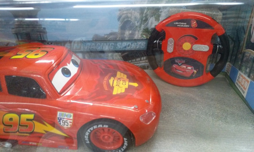 cars auto a radio control rayo mcqueen orig. disney niño