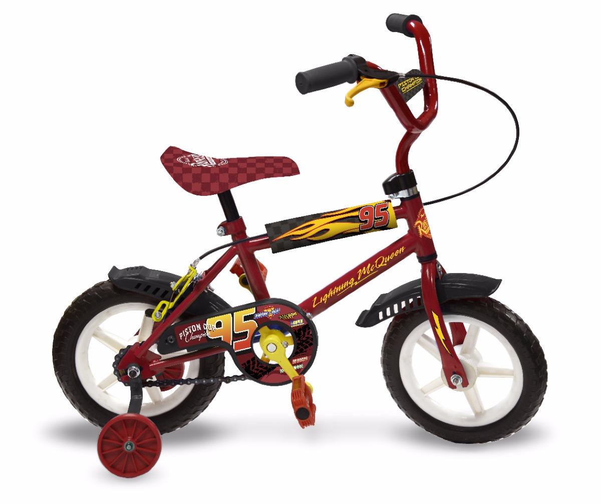 Cars Bicicleta Con Rueditas Estructura Metal Original - $ 2.499,00 ...