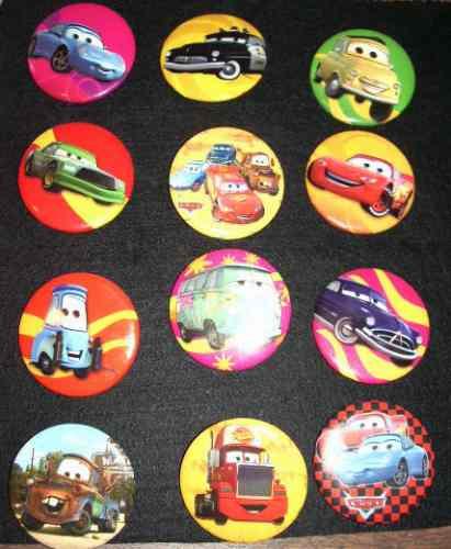 cars botones para fiesta arma tu paquete