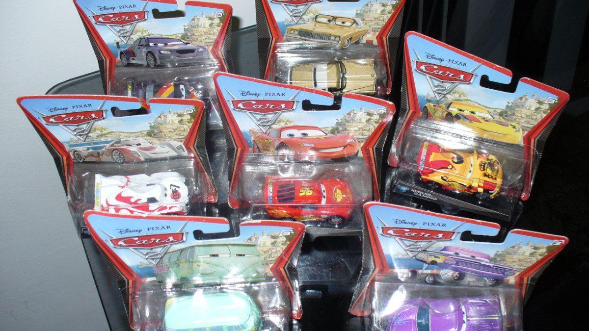 Cars chick hicks disney pixar mattel en mercado - Juguetes cars disney ...