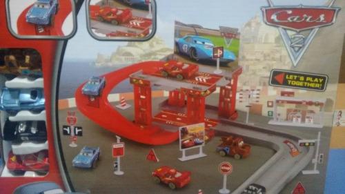 cars - ciudad autopista c/4 autitos  - tuni cy180-1