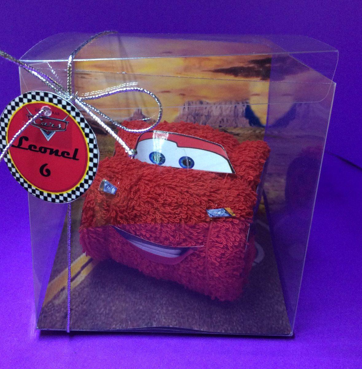 3b949c9bf cars de toalla en caja- souvenirs para cumpleaños infantiles. Cargando zoom.