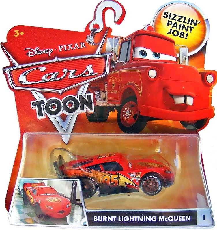 Cars disney burnt mcqueen toon en mercado libre - Juguetes cars disney ...