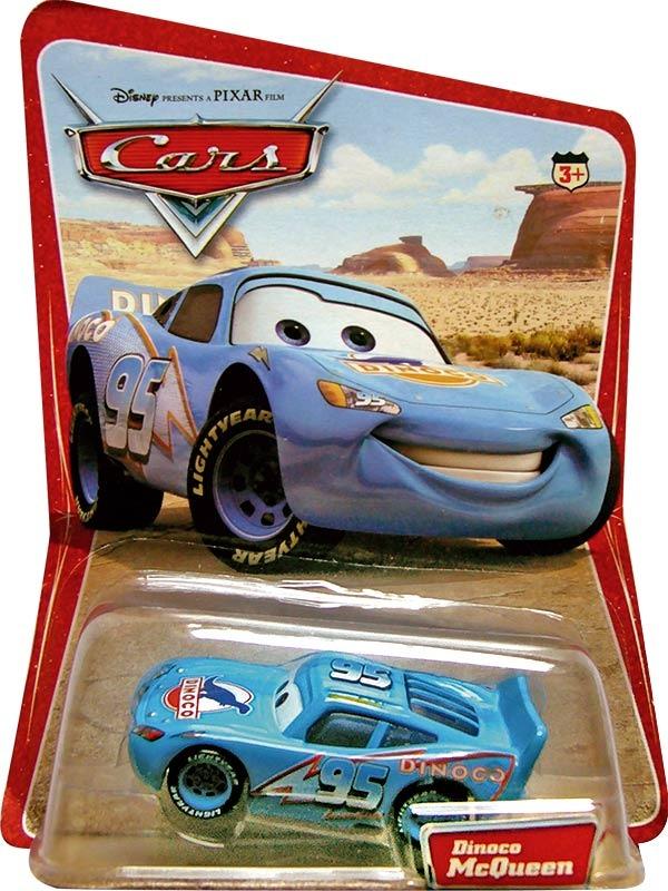 Cars disney dinoco mcqueen desert card 1ra edicion - Juguetes cars disney ...