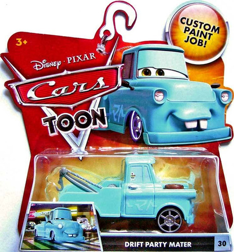 cars disney drift party mater toon.