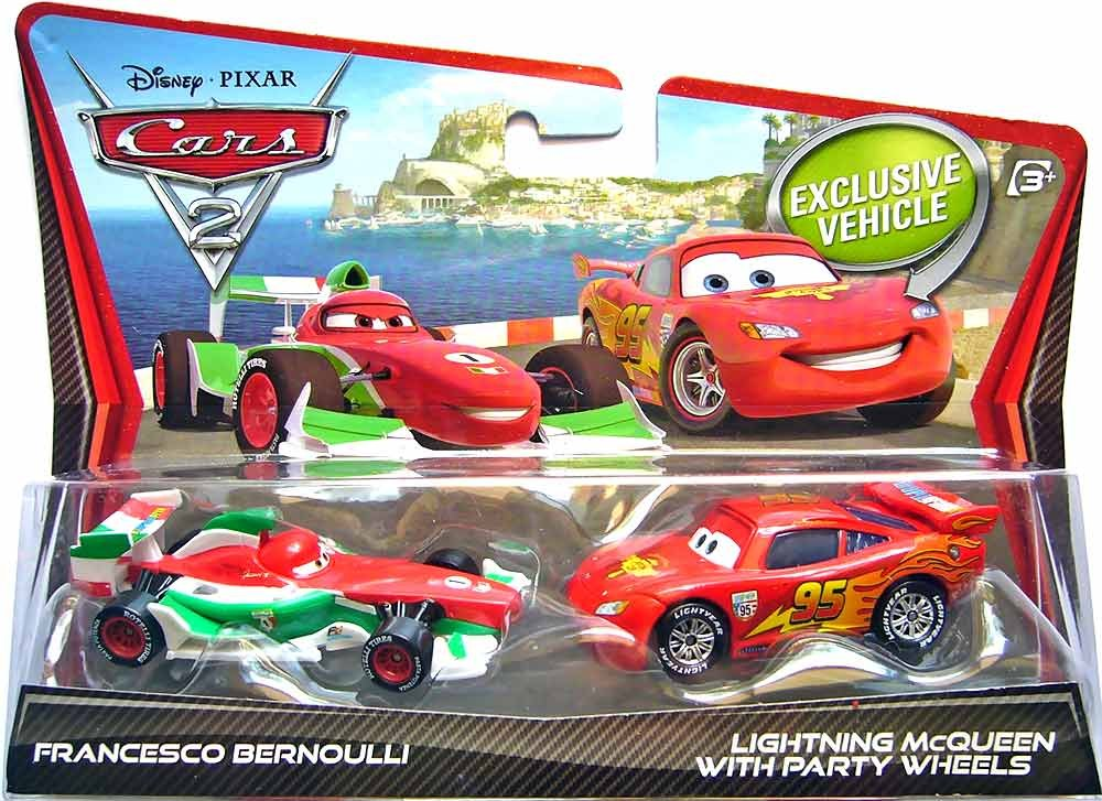 Cars disney francesco bernoulli mcqueen party wheels en mercado libre - Juguetes disney cars ...