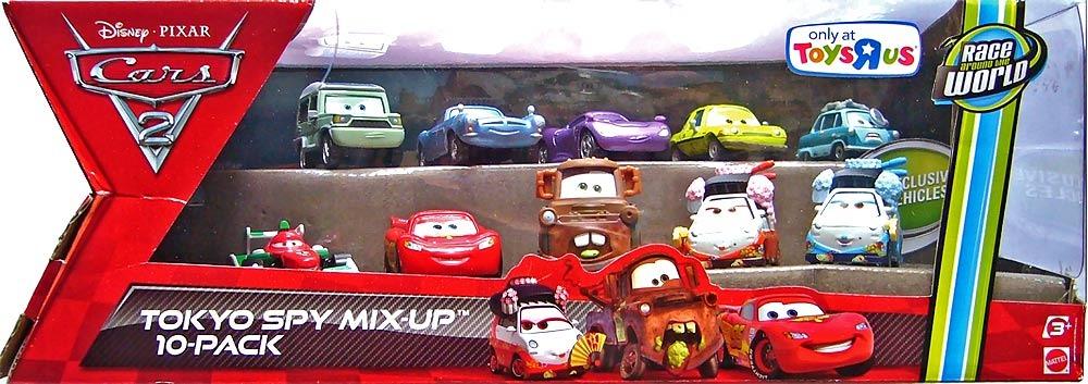Cars disney kabuki professor z miles acer holley finn - Juguetes cars disney ...
