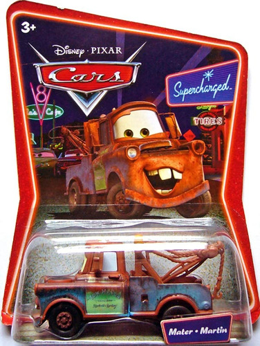 cars disney mater. supercharged.