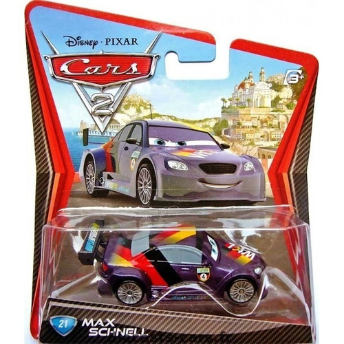 cars disney max schnell. blister.