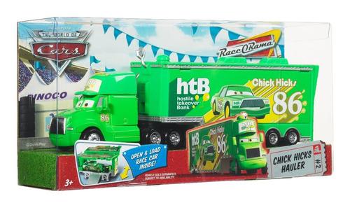 cars disney pixar chick hicks nº 86 hauler bunny toys