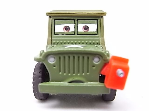 cars disney pixar pit crew member sarge bunny toys