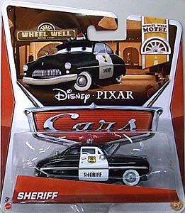 cars disney pixar sheriff radiator s. jugueteria bunny toys