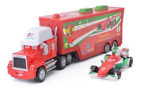 cars - francesco + camión mack - disney pixar