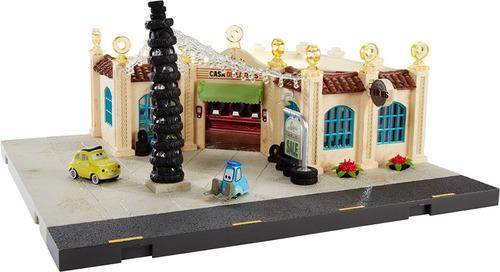 cars luigi's casa della tires playset jugueteria  bunny toys