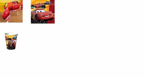 cars manteleria, vela, invitaciones 100% original importada