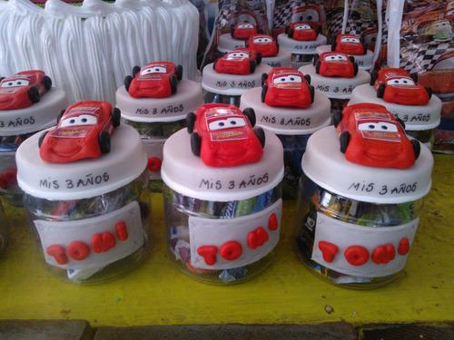 cars porcelana fria adorno de torta myjartesanias