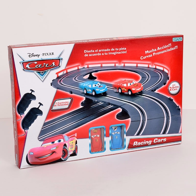 d9cda76920 Cars Racing Cars Pista Carreras Escalectric Original Ditoys ...