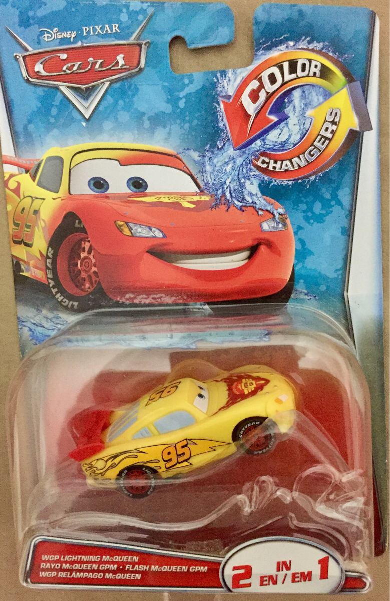 Cars Rayo Mcqueen Color Changers 2 En 1 - $ 289.00 en Mercado Libre