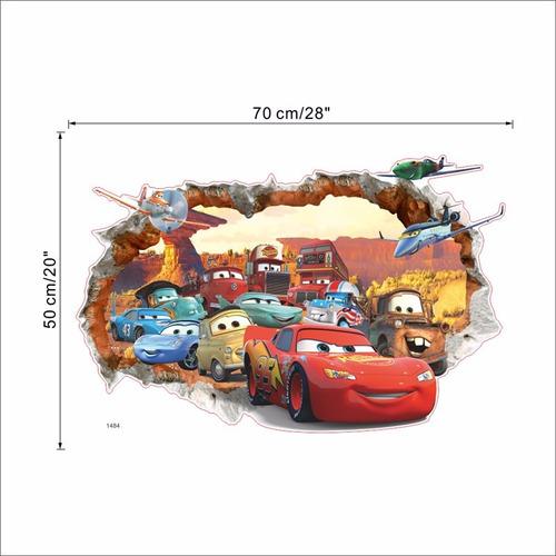 cars vinilo- pared- 50x 70cm