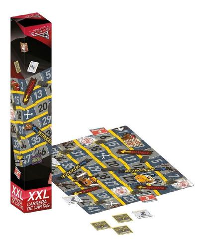 cars xxl carrera de cartas juego mesa niños niñas quinotoys