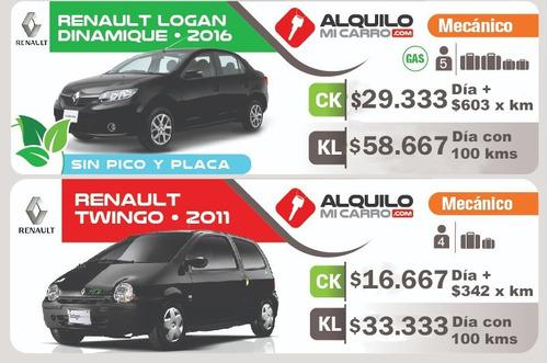 carsharing desde $14.722/día y $303 por km recorrido