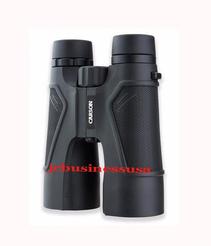 carson serie 3d binocular hd  y de cristal prisma bak4 10x50