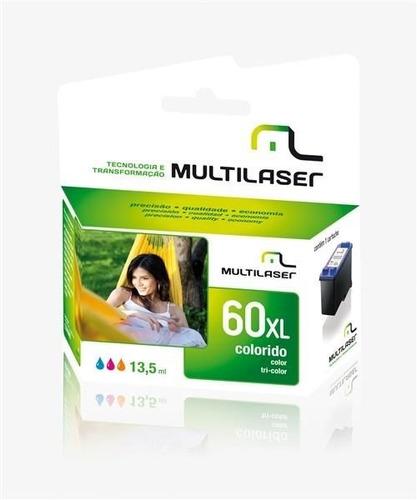 cart. jato comp. p/hp mod 60 color multilaser - co60c
