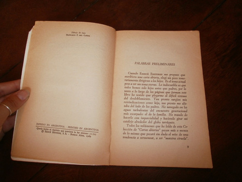 carta abierta a los hijos de silvina bullrich ed. emecé