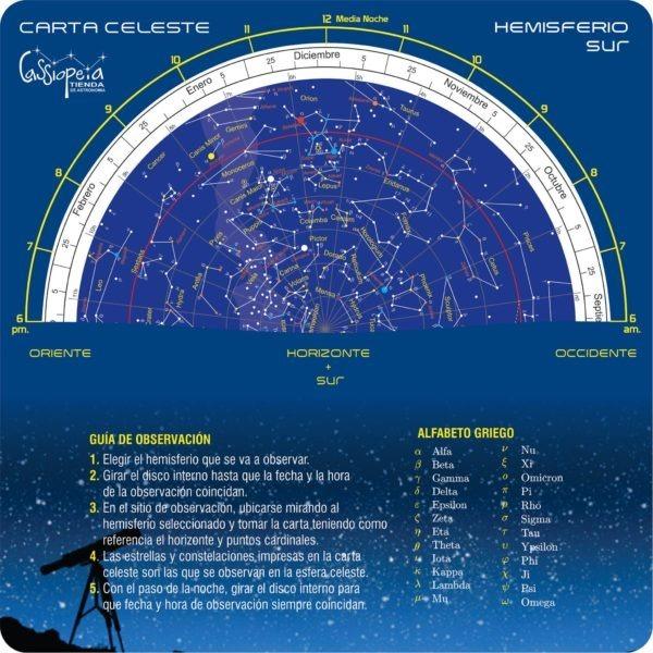 Mapa Estelar Hemisferio Norte.Carta Celeste Mapa Estelar Atlas Estelar Planisferio