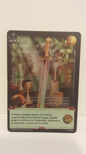 carta de furia extensión myl gladius 28/90