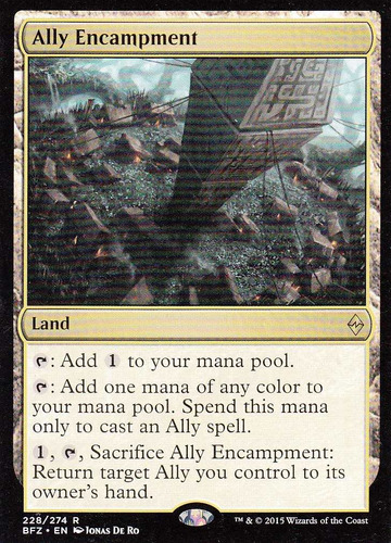 carta magic ally encampment