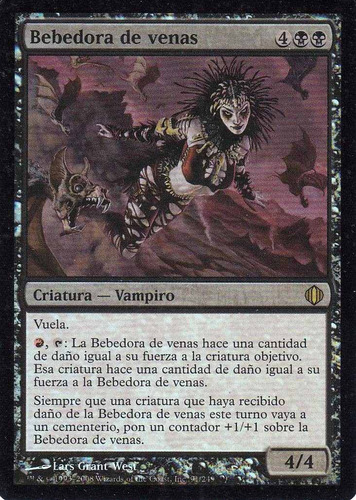 carta magic bebedora de venas foil
